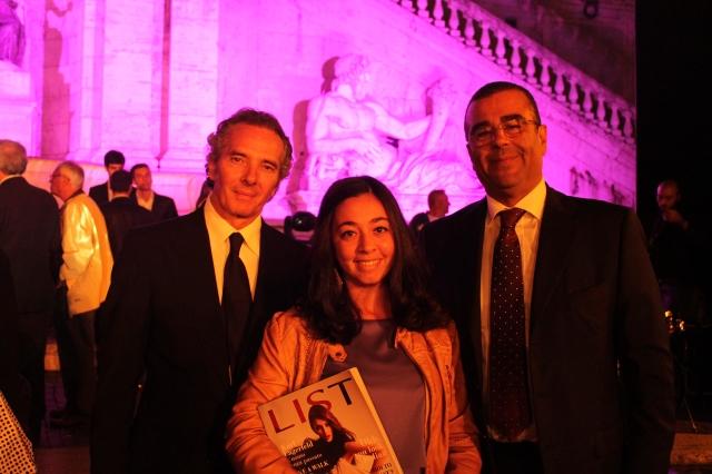 Con Ruben Dell'Ariccia e Giulio Moscati.