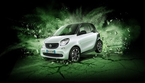 La nuova smart fortwo Black Passion